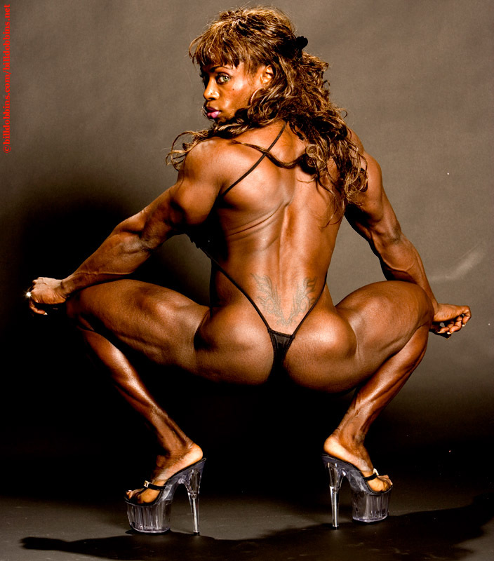 Holy sh!t this is kai greene's gf? (google her name with ...