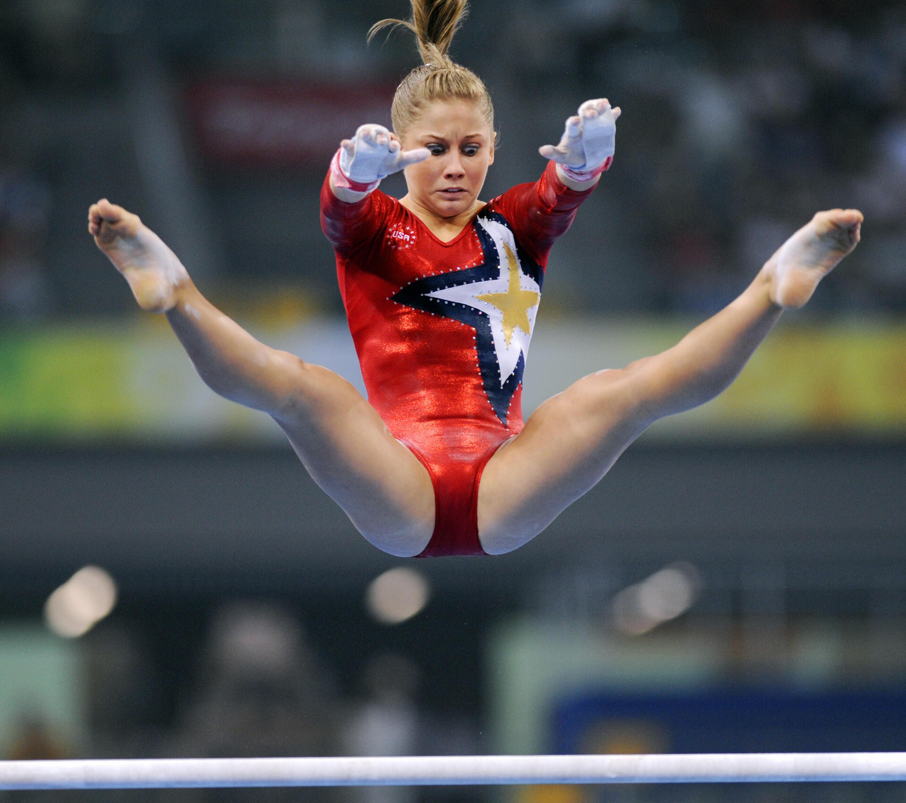 Johnson shawn ass olympic gymnast