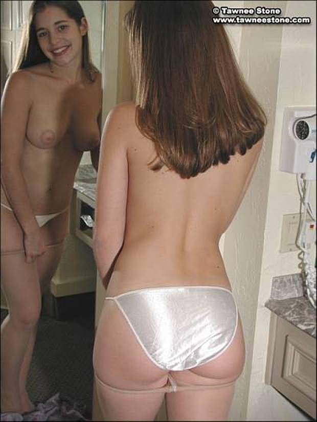 Masterbating With Panties On